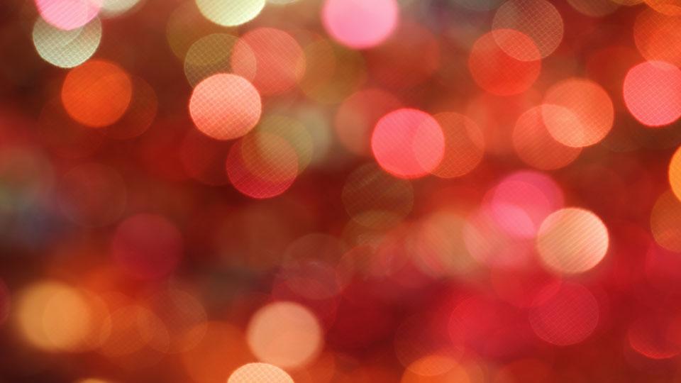 Julerød lys glitter