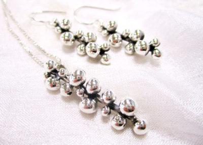 sølv øreringer